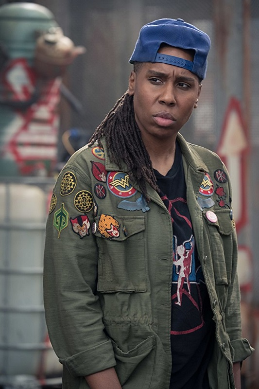 "Lena Waithe appears in ""Ready Player One."" Warner Bros. photo"