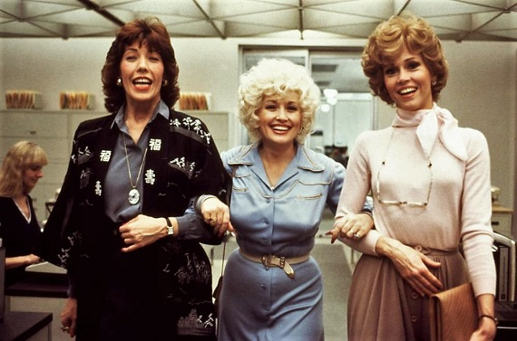 """From left, Lily Tomlin, Dolly Parton and Jane Fonda star in the 1980 film """"9 to 5."""" Twentieth Century Fox photo"""