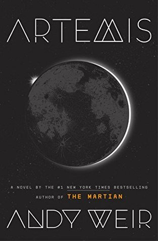 "The 2017 science fiction novel ""Artemis,"" by Andy Weir, is being adapted into a feature film. Book cover art via Crown Publishing Group"