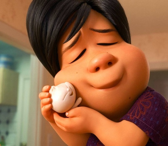 "A lonely mother follows in love with a dumpling that comes magically to life in the new Disney/Pixar short film ""Bao."" Disney/Pixar photo"