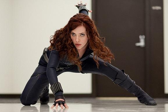 "Scarlett Johansson made her debut as Black Widow in 2010's ""Iron Man 2."" Marvel Studios photo"