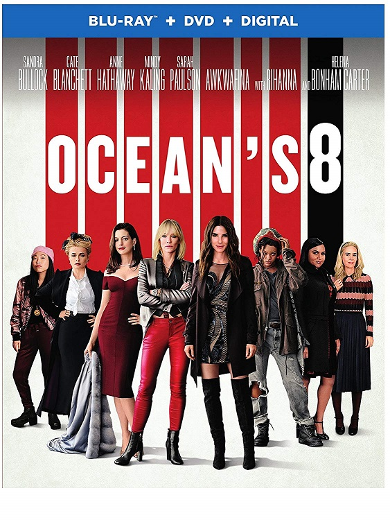 """""""Ocean's Eight"""" will be released on Digital on Aug. 21 and on 4K UHD, Blu-ray and DVD on Sept. 11. Warner Bros. Home Entertainment photo"""