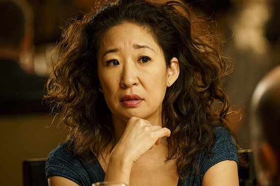 """Sandra Oh appears in her Emmy Award-nominated role in """"Killing Eve."""" BBC America photo"""