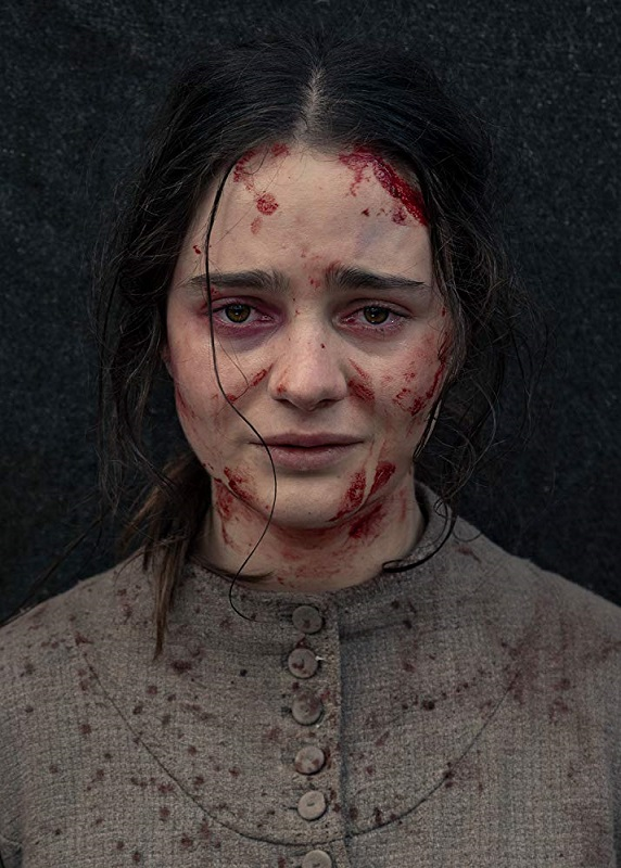 "Aisling Franciosi appears in writer-director Jennifer Kent's film ""The Nightingale."" The film is the only in-competition selection by a female director at this year's Venice Film Festival. Photo provided"