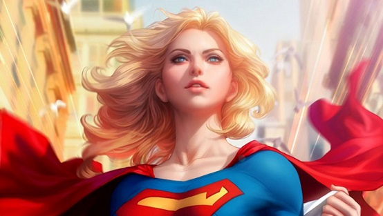 Warner Bros and DC are developing a feature film based around Supergirl. DC Comics image