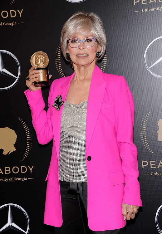 Rita Moreno becomes first Latina PEGOT winner