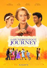 100 Foot Journey poster