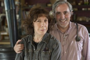 Lily Tomlin and Paul Weitz
