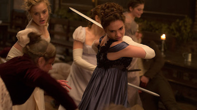 AWFJ Movie of the Week, February 1-7: PRIDE AND PREJUDICE AND ZOMBIES