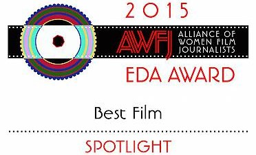 SPOTLIGHT Tops 2015 AWFJ EDA Awards Winners