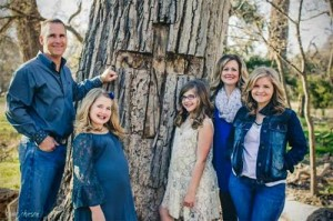 Christy Bean and Family. Photo by Ryan Johnson