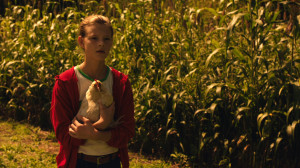 Still from AMERICAN FABLE: Young Gitty in the Corn Field