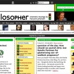 Homepage May 2011 reflects evolving design trends