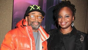 Dee Rees with Spike Lee
