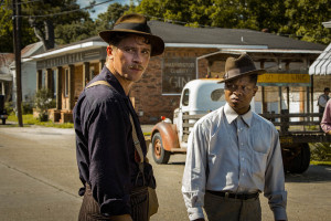 GarrettHedlund and Jason Mitchell in Rees' Mudbound