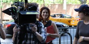 jessica thompson on set 2