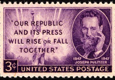 JOSEPH PULITZER: VOICE OF THE PEOPLE – Review by Jennifer Merin